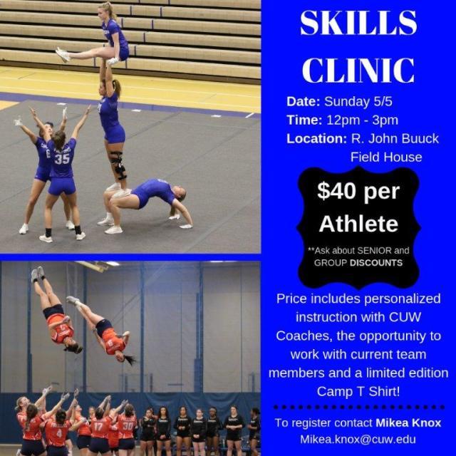 Skills Clinic May 19
